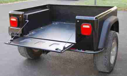Jeep Trailer by Dinoot Tailgate