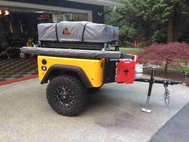Jeep Trailer Customer Build by Jason