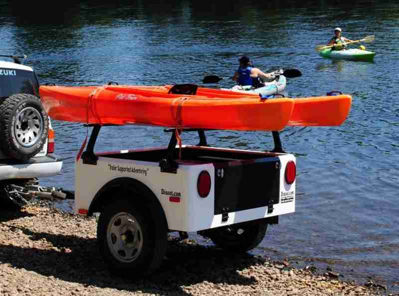 Jeep Style Tub Kit Dinoot Trailer Kayak Hauler