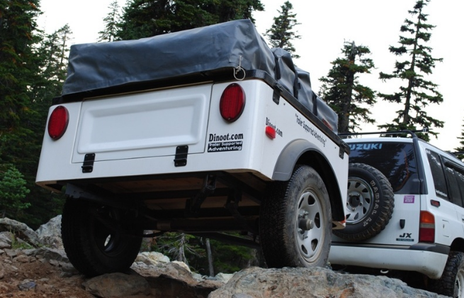 jeep trailer off-road