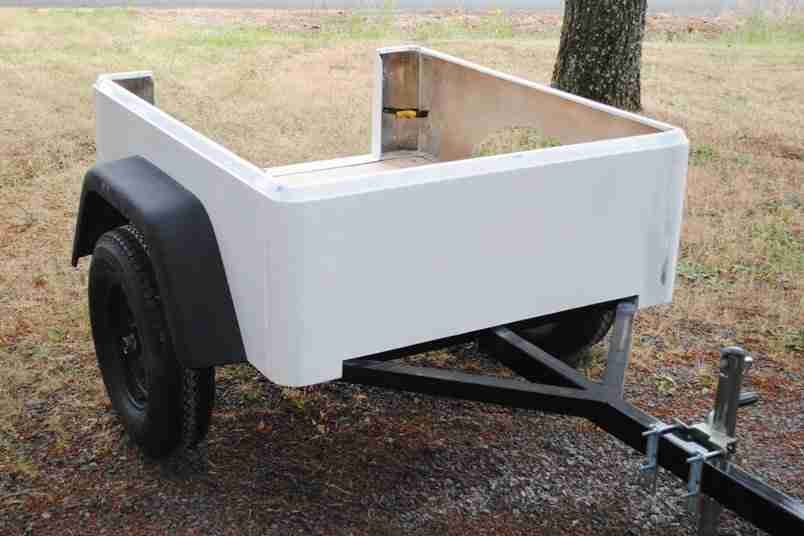 Dinoot Jeep Style Trailer New Custom Build 8