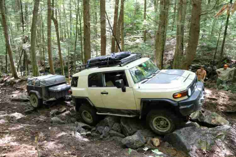 Jeep Off Road Trailer J-Series Camping Trailer by Customer