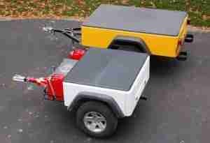 Jeep Style Compact Camping Trailers Compact and Extended Models