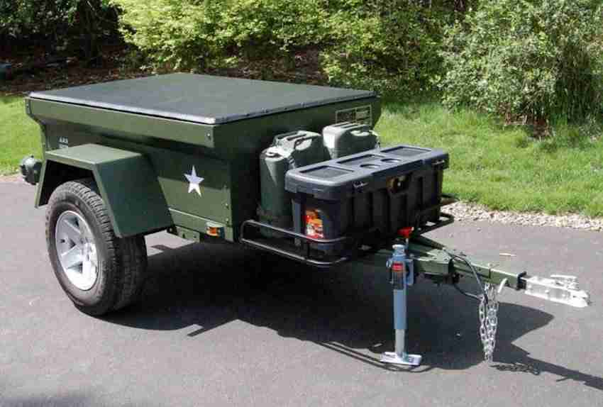 M416 Trailer Tub Kit by Dinoot Trailers