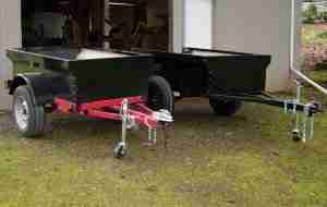 Jeep Trailer Lightweight Fiberglass Tub Kits Extended and Compact
